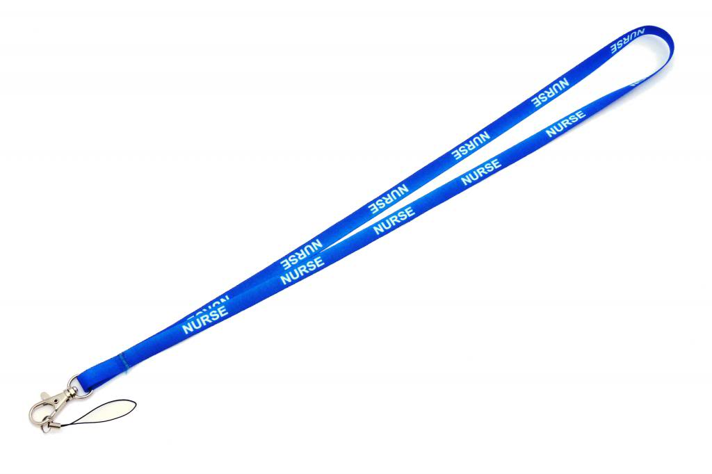 Nurse Quality Satin Lanyard Neck Strap Ideal For Mobile