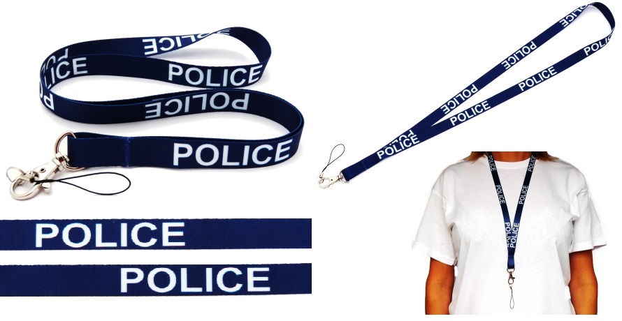 Police High Quality Lanyard Neck Strap Mobile Id Keys